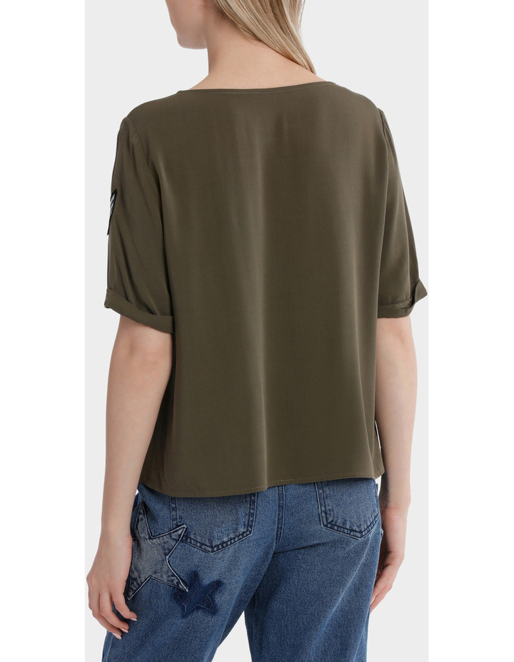 Avery Brier Short Sleeve Top image 3