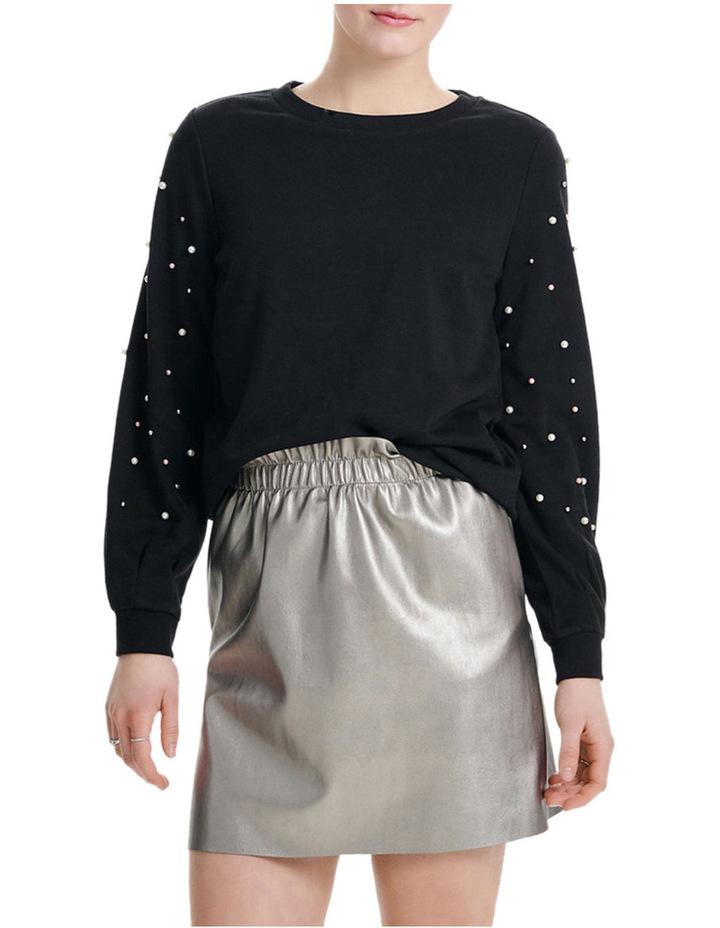 Asti Long Sleeve Embellished Sweater image 1