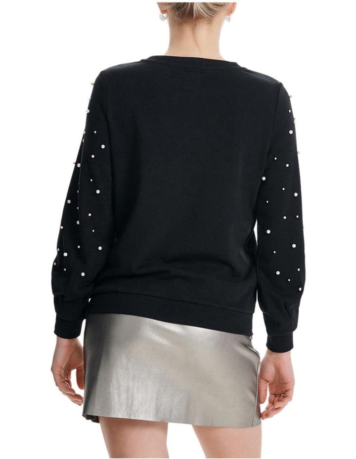 Asti Long Sleeve Embellished Sweater image 2