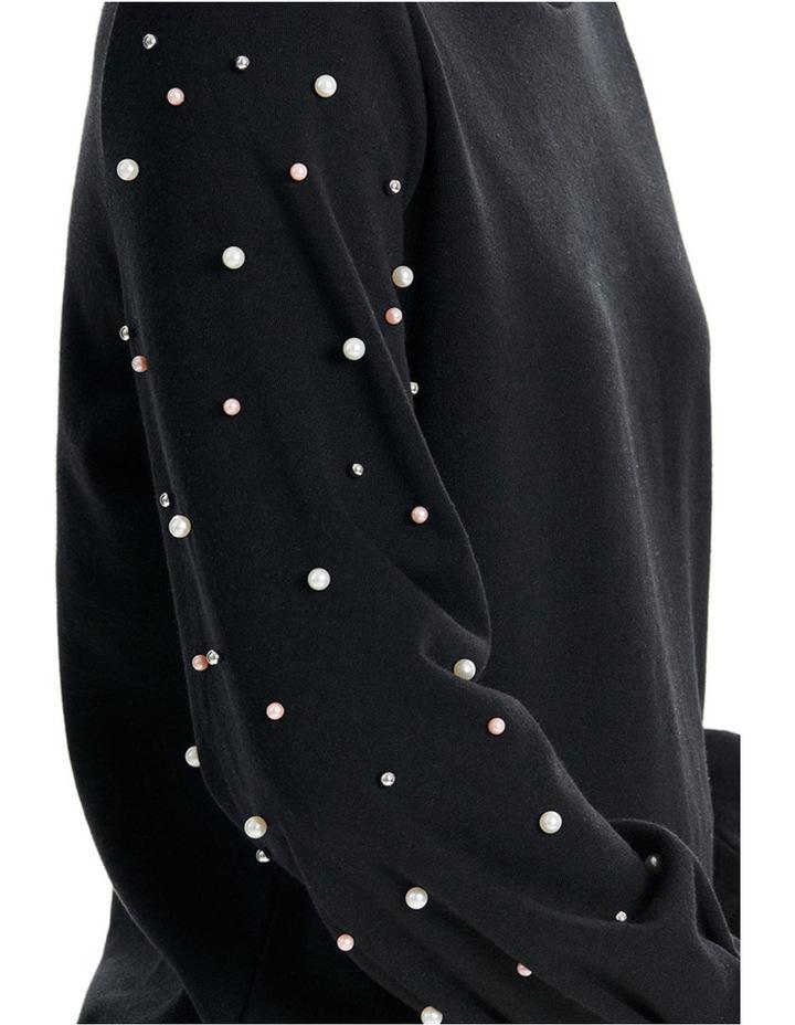 Asti Long Sleeve Embellished Sweater image 3