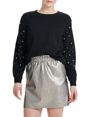 ONLY - Asti Long Sleeve Embellished Sweater
