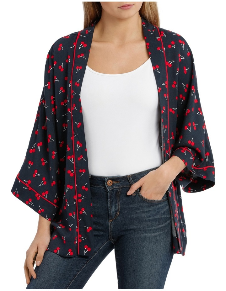Beso 3/4 Short Kimono Woven image 1