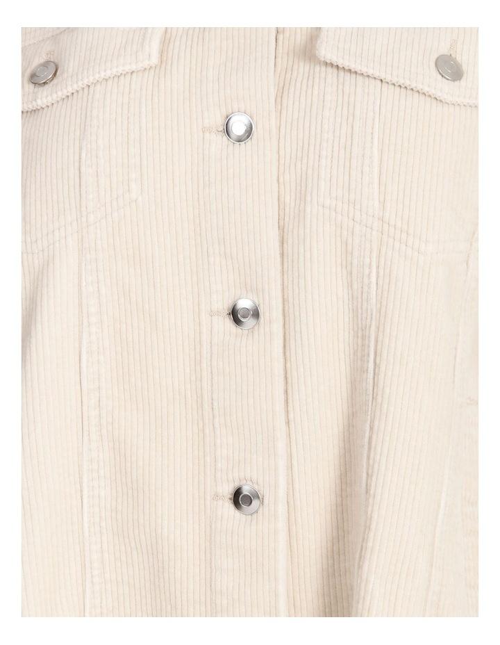 Bitten Life Cord Long Sleeve Shirt Ivory image 5