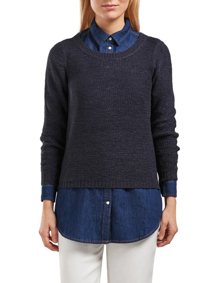 Geena Long Sleeve Pullover Knit image 1
