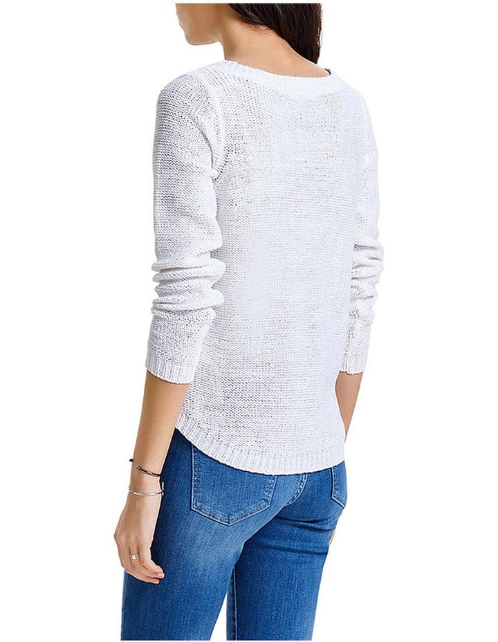 Geena Xo Long Sleeve Pullover Knit image 2