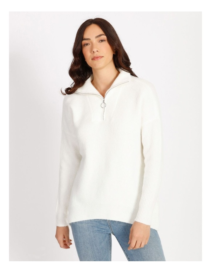 Lex Zip Pullover Knit image 1