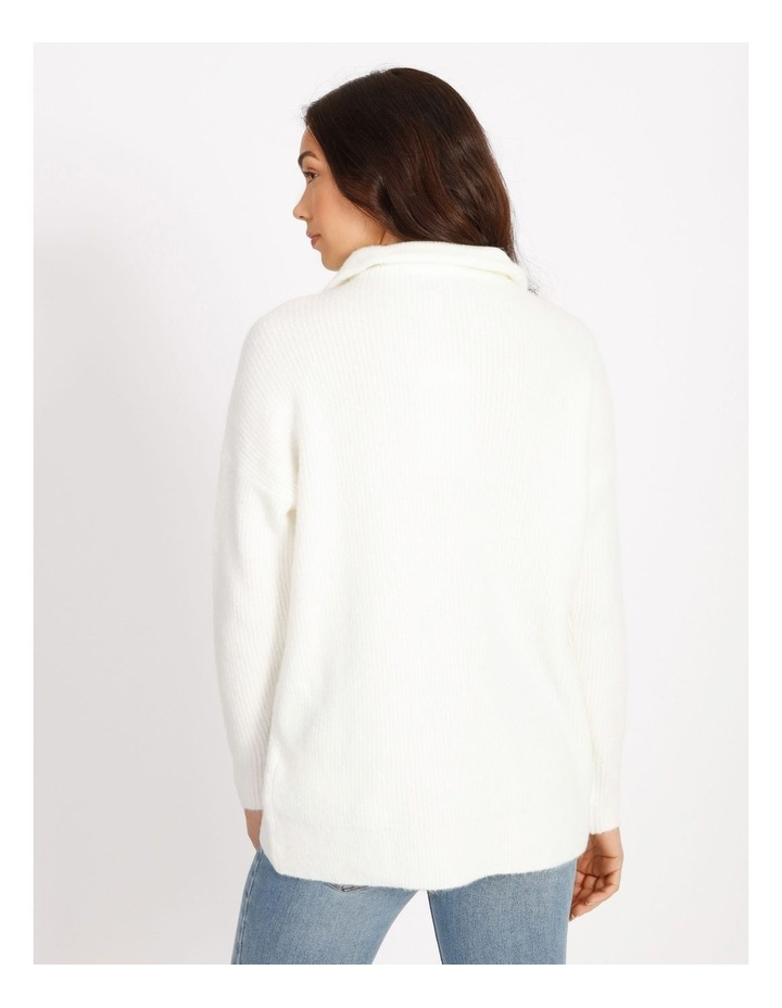 Lex Zip Pullover Knit image 3