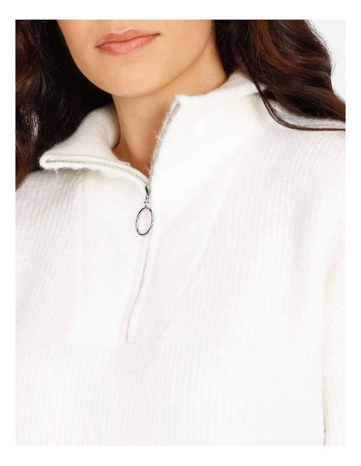 Lex Zip Pullover Knit image 4