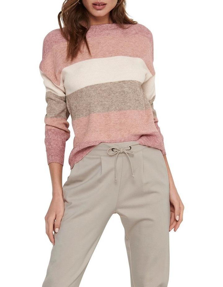 Atia Stripe Pullover Knit image 1