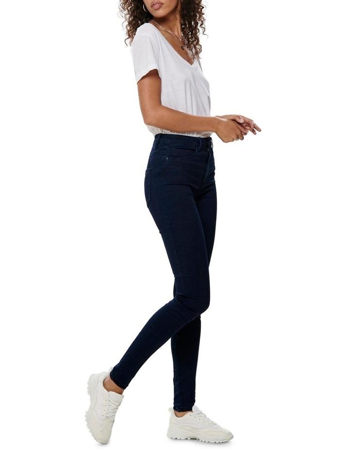 Royal High Waist Skinny Jean image 3