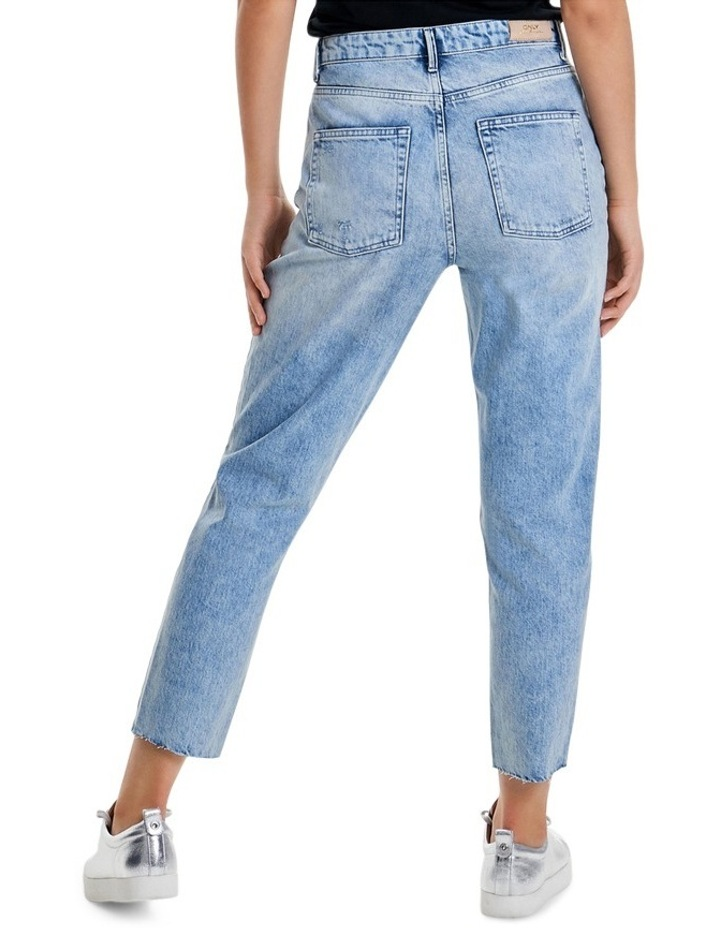 Kelly High Waisted Ankle Denim Jeans REA20409 image 2