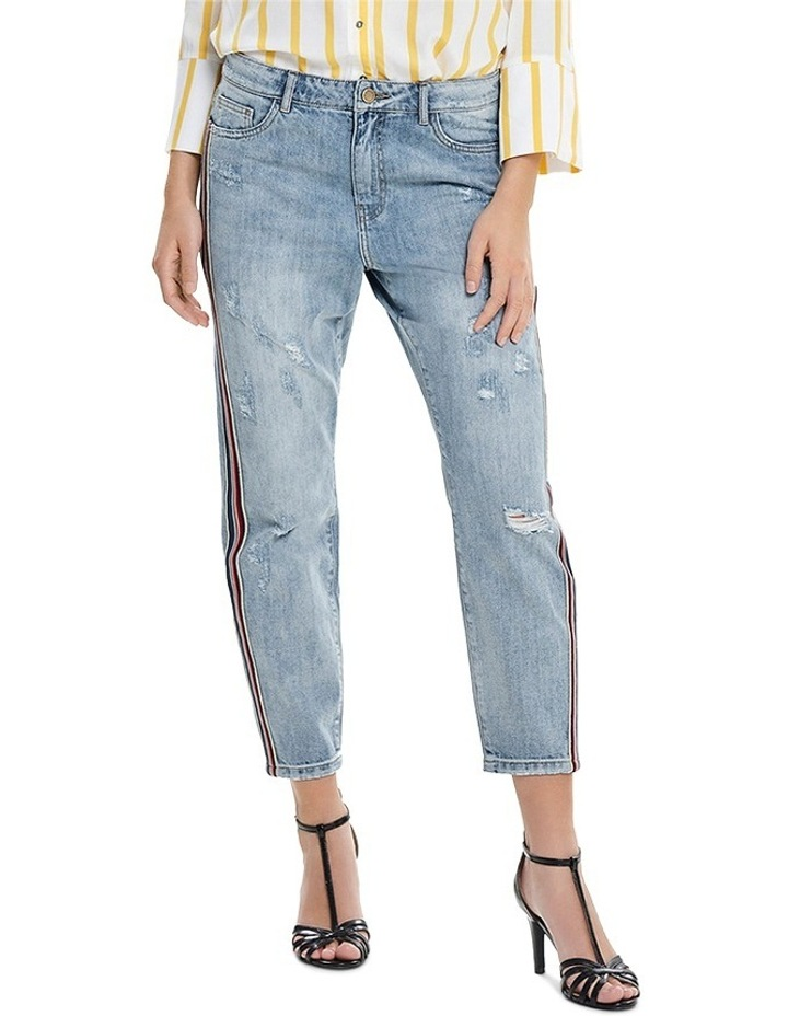 Tonni BF Sport Stripe and Denim Jeans image 1