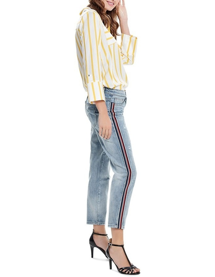 Tonni BF Sport Stripe and Denim Jeans image 3