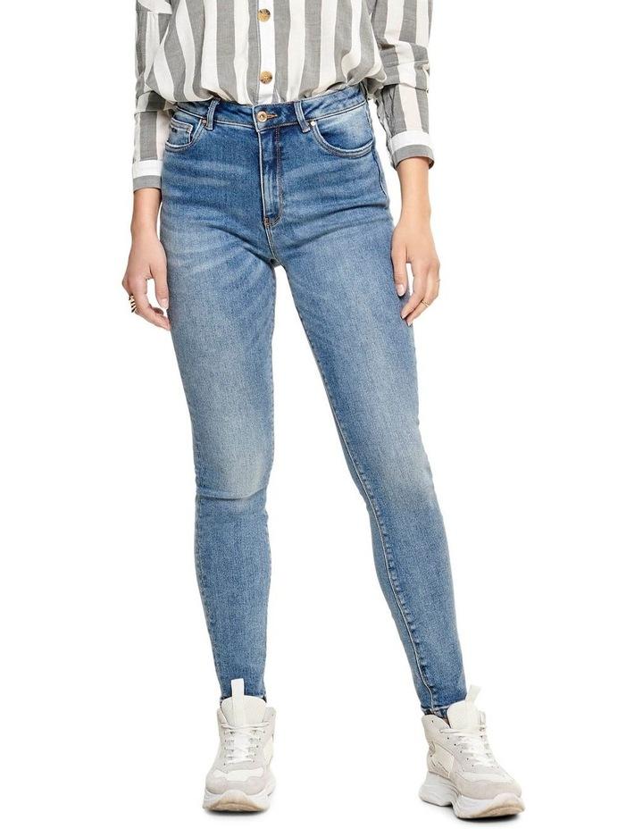 Mila High Waisted Skinny Jeans image 1