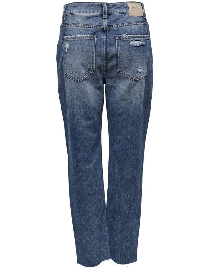 Emily High Waist Cropped Straight Fit Jeans image 2