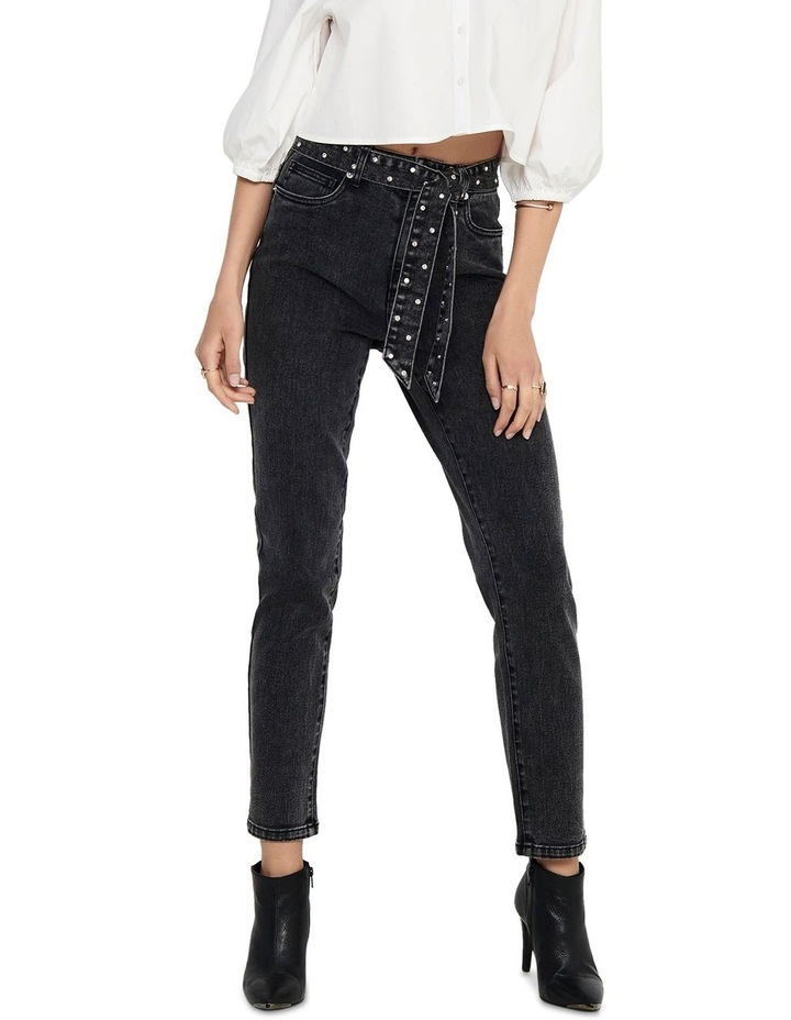 Wild Emily Life High Waisted Straight Jeans image 1