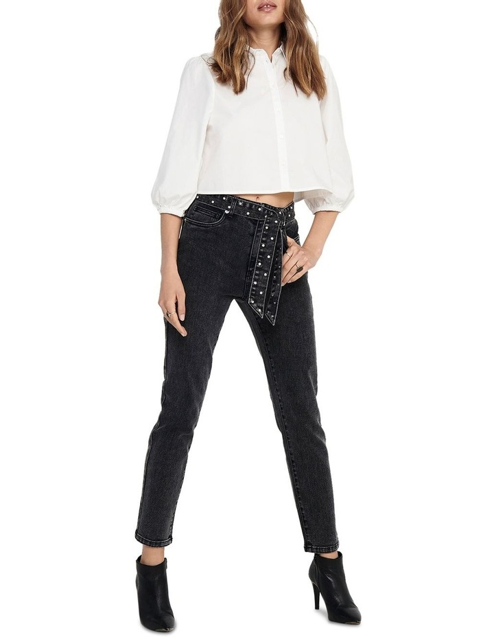 Wild Emily Life High Waisted Straight Jeans image 3