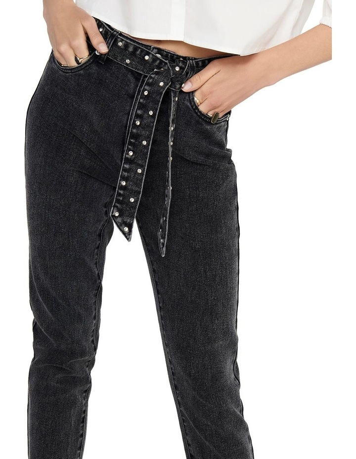 Wild Emily Life High Waisted Straight Jeans image 4