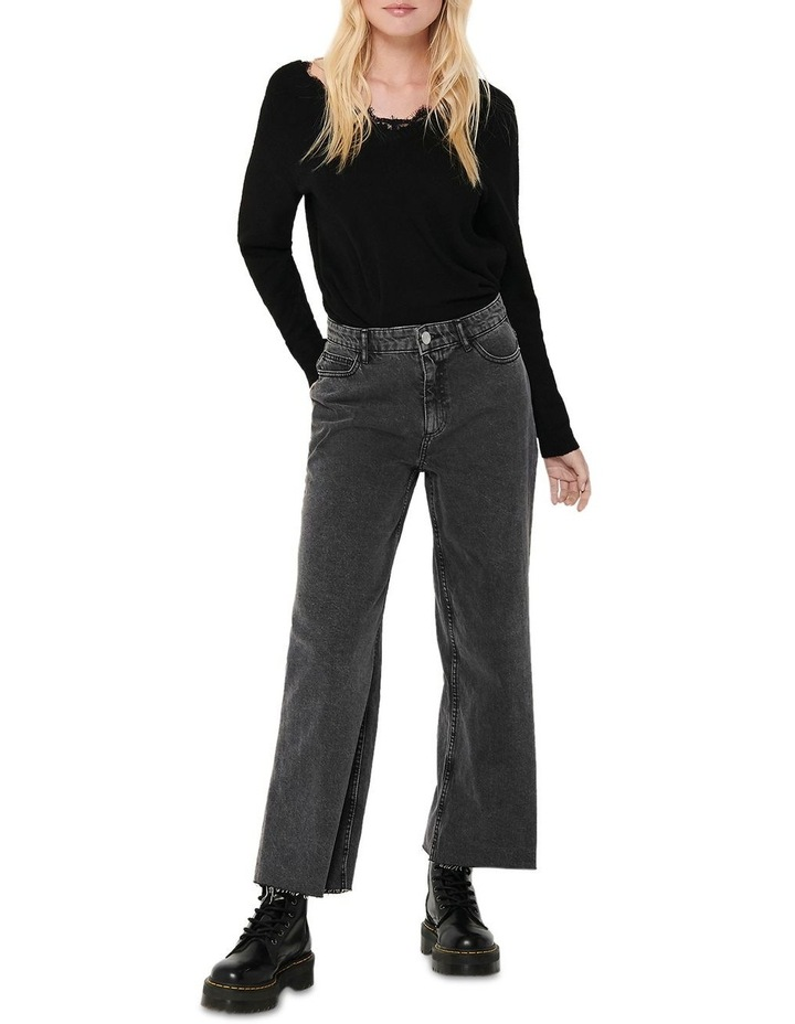 Sonny Life High Waisted Wide Leg Jeans image 3