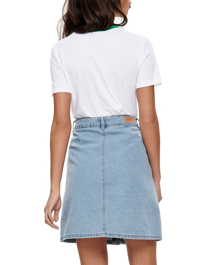 Button Denim Skirt image 2