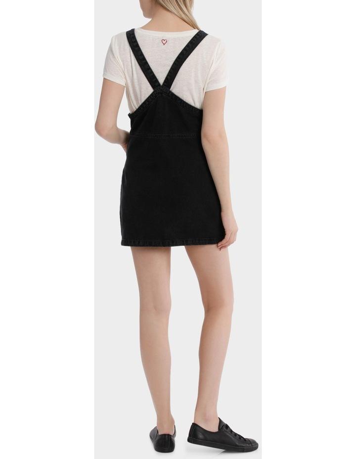 Aya Zip Denim Overall Dress image 3