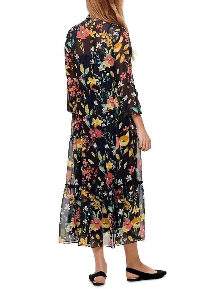 Nora Long Sleeve Midcalf Dress image 2