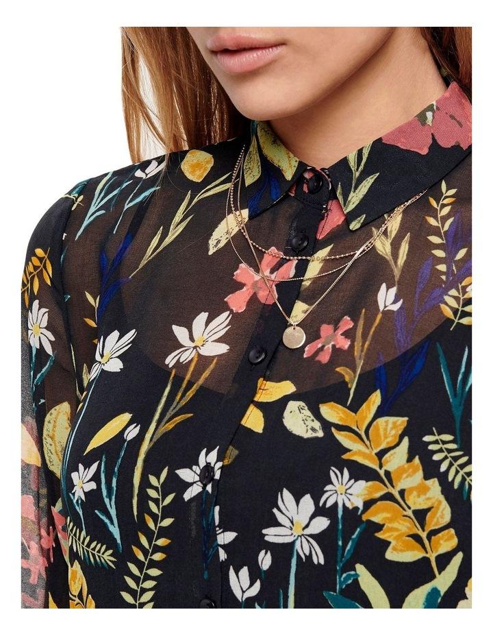 Nora Long Sleeve Midcalf Dress image 3