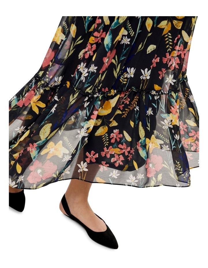 Nora Long Sleeve Midcalf Dress image 4