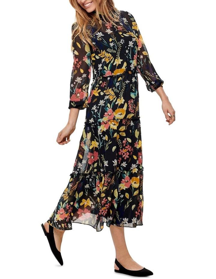 Nora Long Sleeve Midcalf Dress image 5