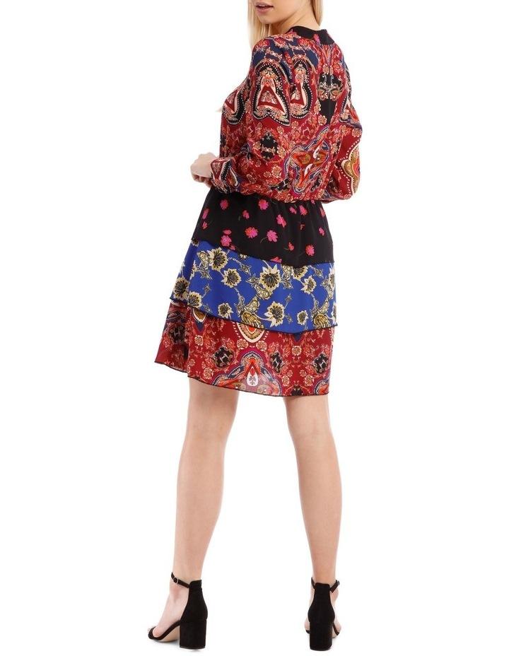Talia Long Sleeve Short Dress image 3