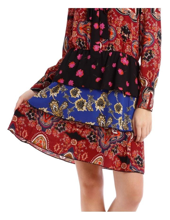 Talia Long Sleeve Short Dress image 4