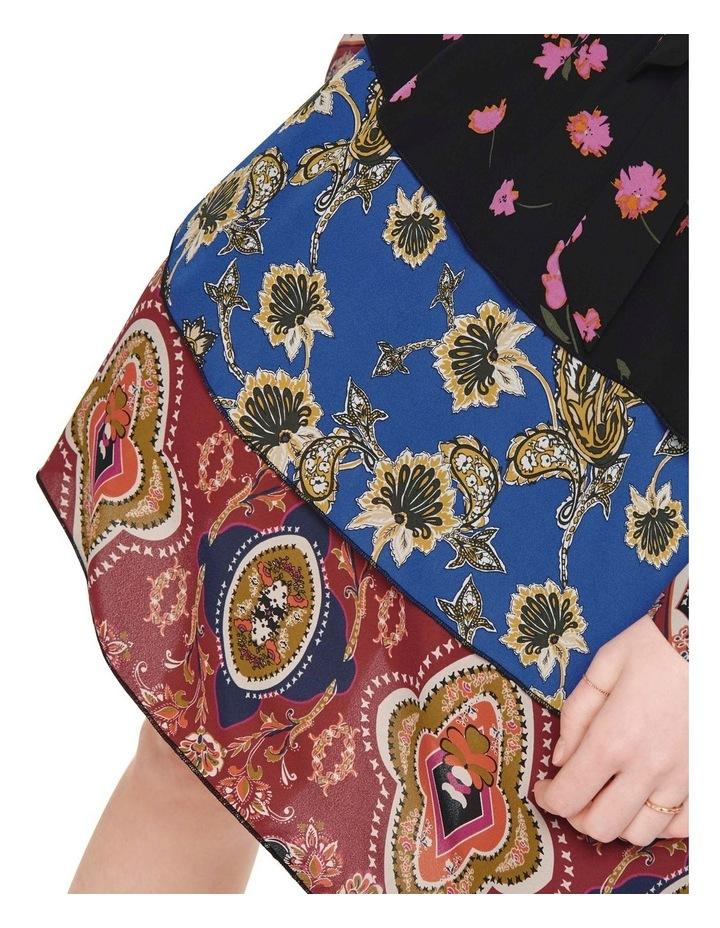 Talia Long Sleeve Short Dress image 5