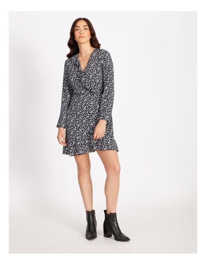Carly Wrap Short Dress image 1