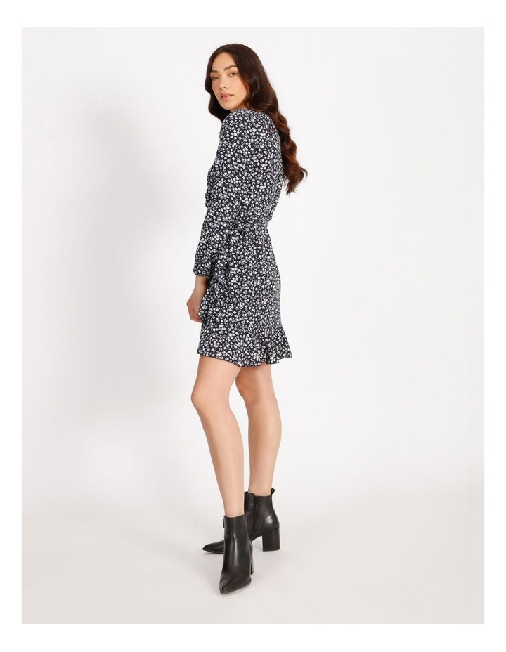 Carly Wrap Short Dress image 2