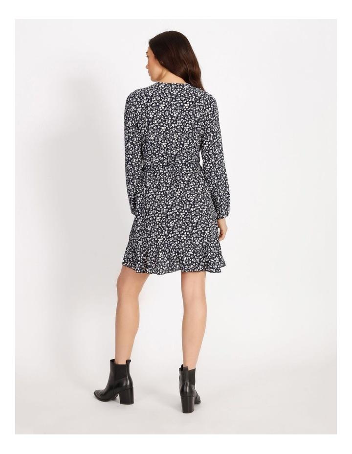 Carly Wrap Short Dress image 3