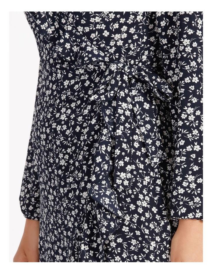 Carly Wrap Short Dress image 4