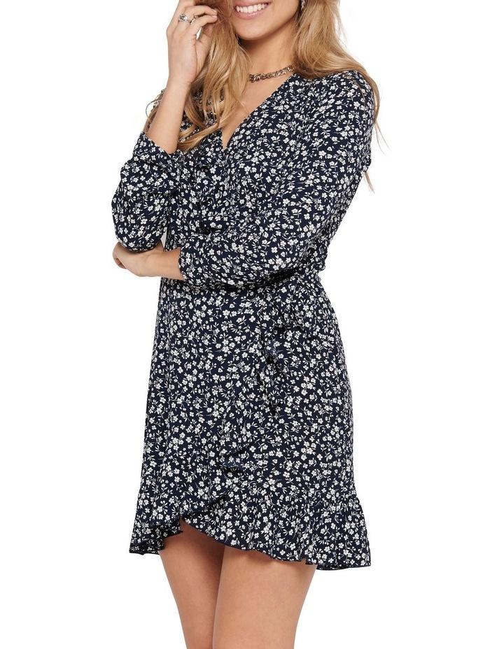 Carly Long Sleeve Wrap Dress image 1