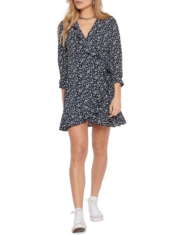 Carly Long Sleeve Wrap Dress image 3