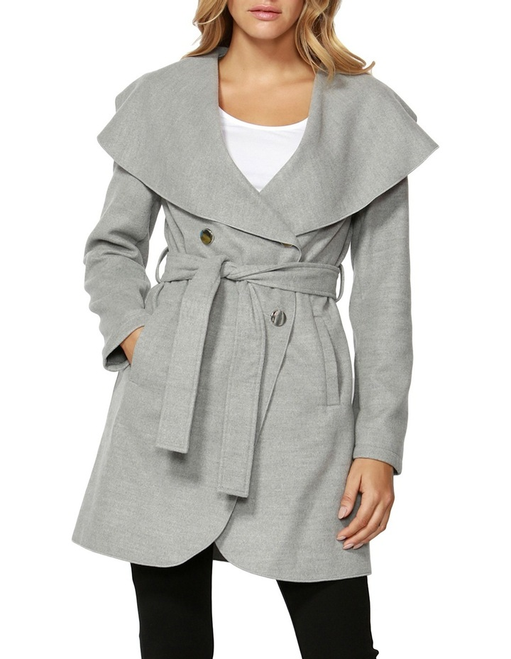 Celina Wide Collar Coat image 1