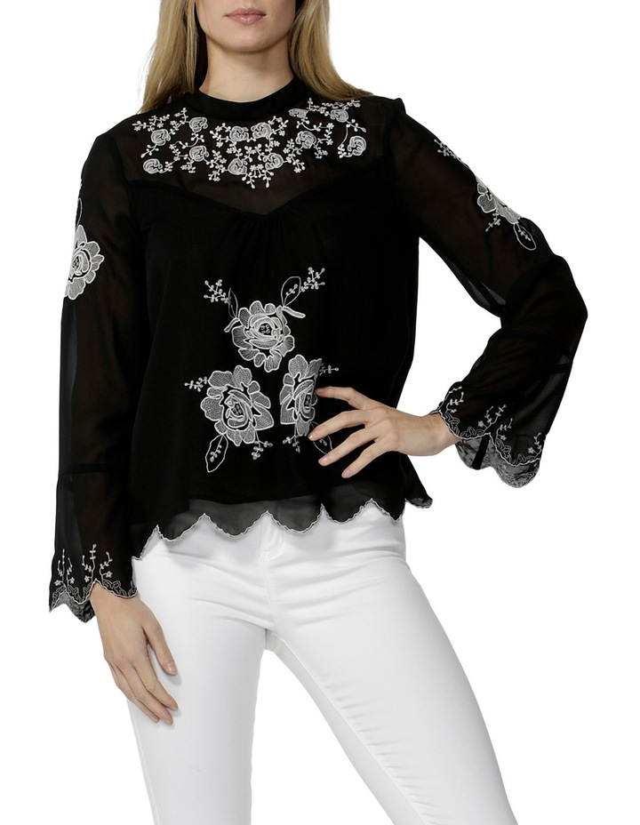 Odalia Embroidered Blouse image 1
