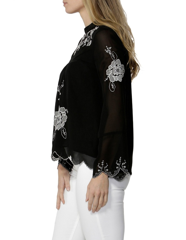 Odalia Embroidered Blouse image 3
