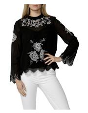 Sass - Odalia Embroidered Blouse