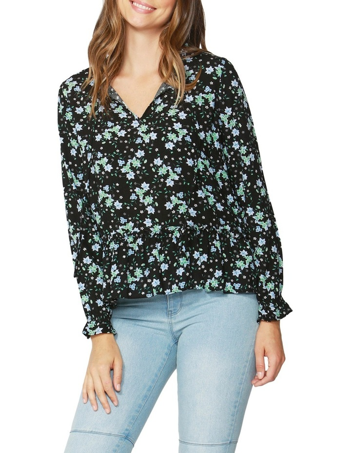 Winter Forest Frill Blouse image 1