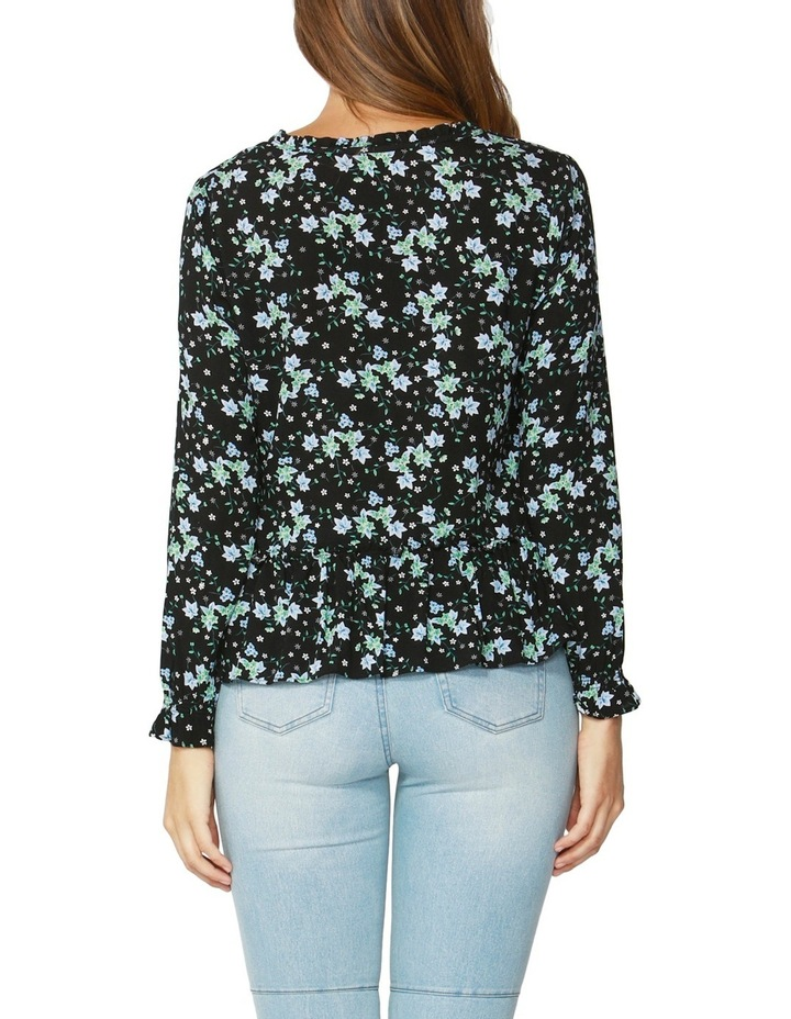 Winter Forest Frill Blouse image 2