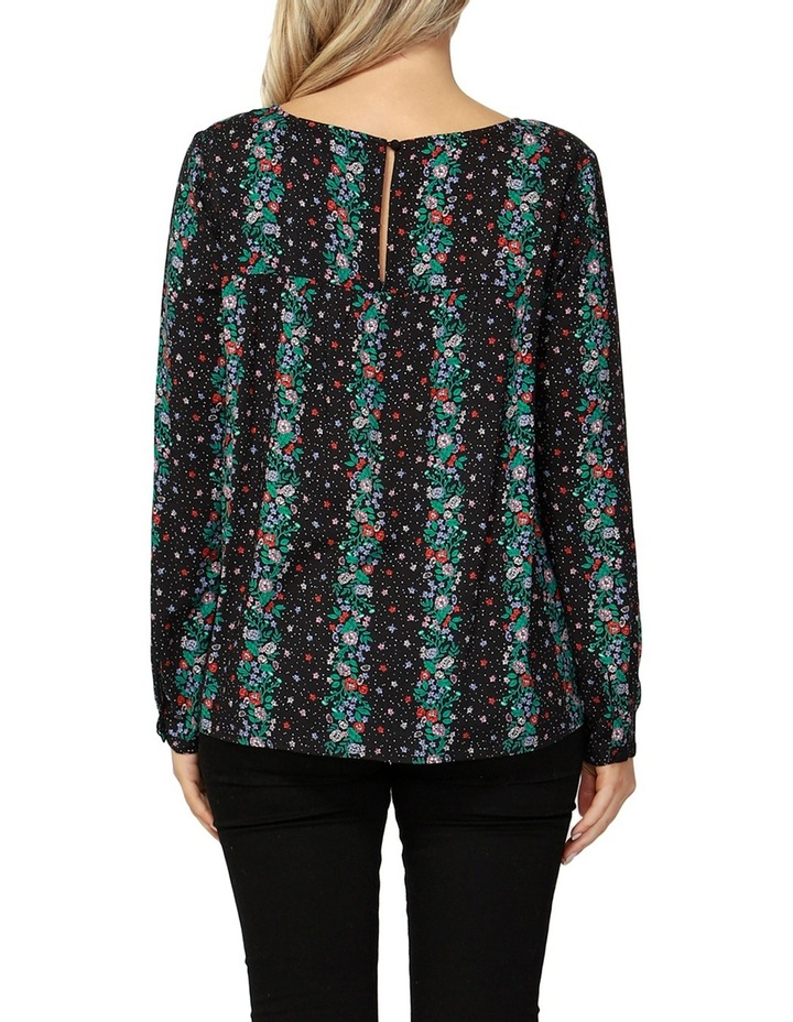 Falling Florals Layered Blouse image 2