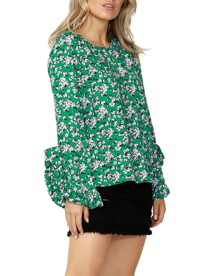 Liberty Ruffle Sleeve Blouse image 3