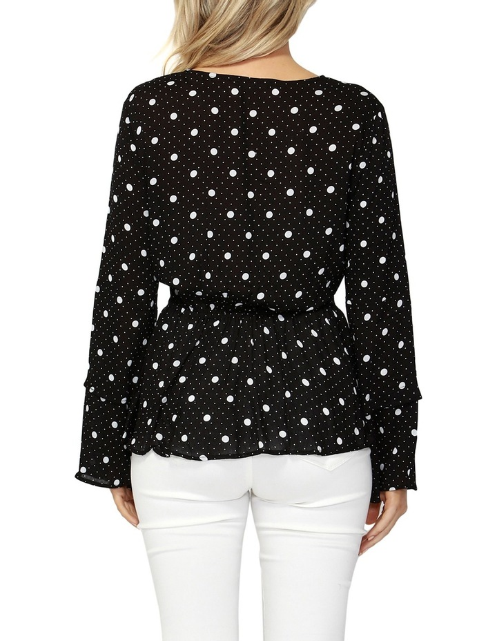 Spot On Wrap Blouse image 2