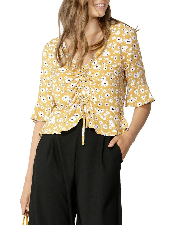 Forget Me Not Rouched Blouse image 2