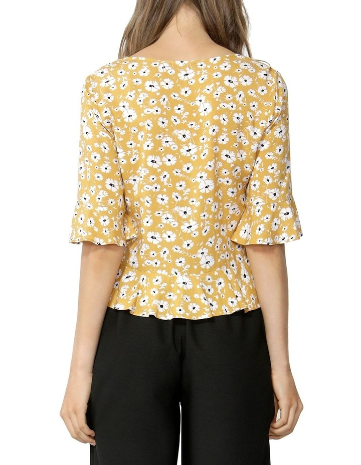 Forget Me Not Rouched Blouse image 3