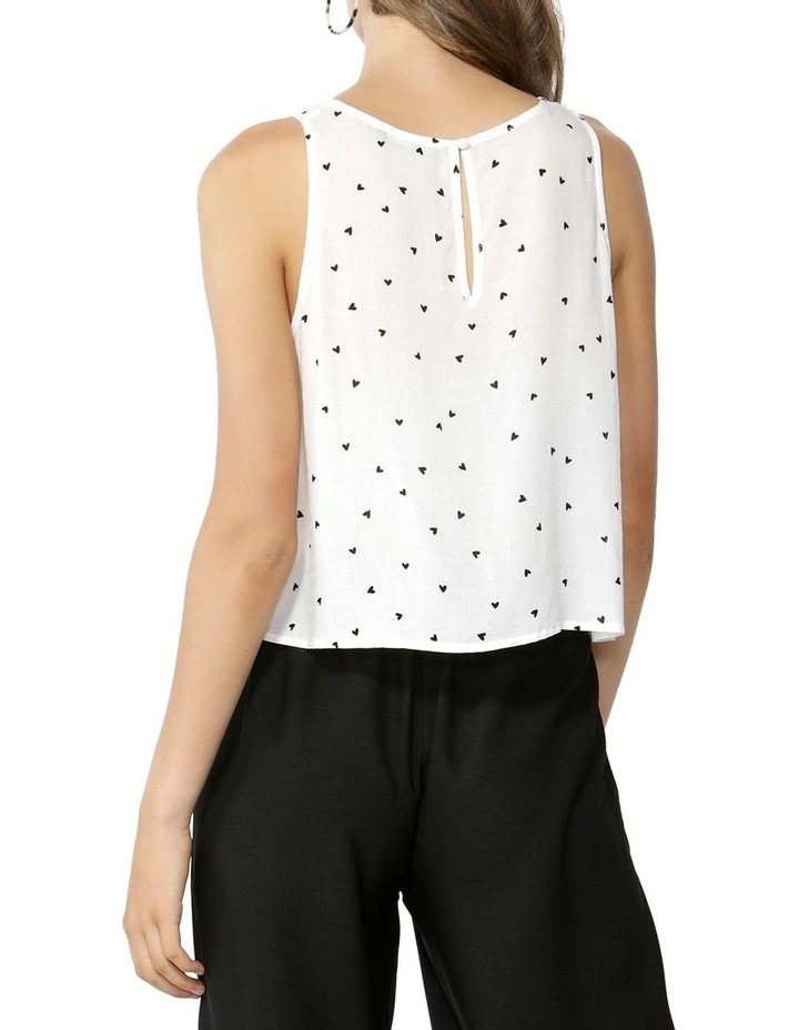 Floating Hearts Crop Blouse image 3
